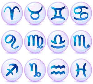 Les douze signes astrologiques