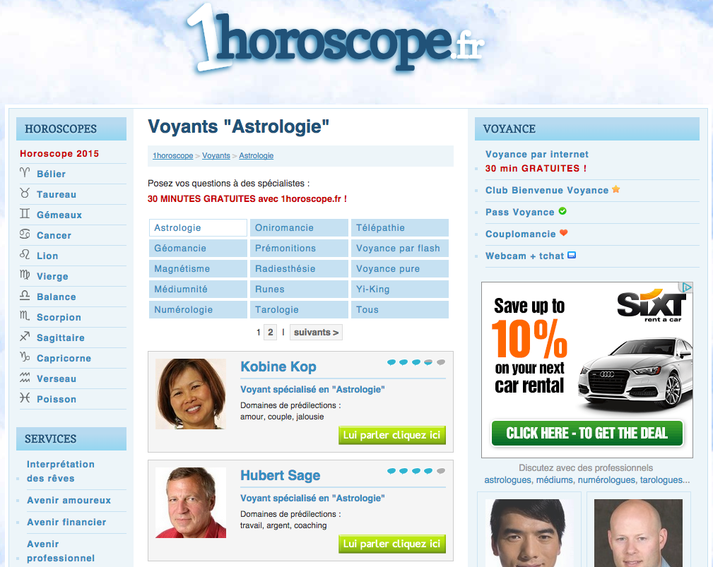 1Horoscope