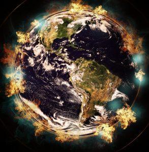 Tremblements de terre et éruptions volcanique