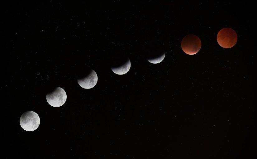 Eclipse de lune juillet 2017
