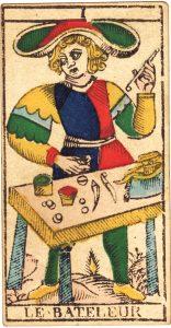 caracteristique lame magicien bateleur