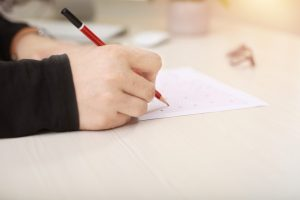 Signification de rêver d'examen écrit ou oral