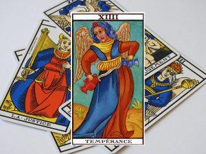 Signification de l'arcane de la Tempérance