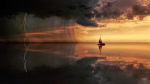 Significations de rêver d'être surpris par un orage