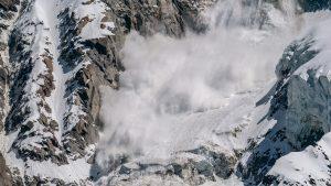 Signification de rêver d'une avalanche
