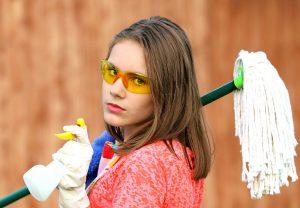 Nettoyer les surfaces et les objets !