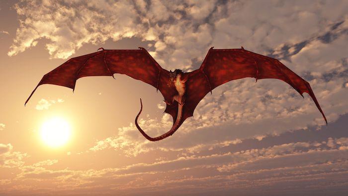 reve dragon qui vole
