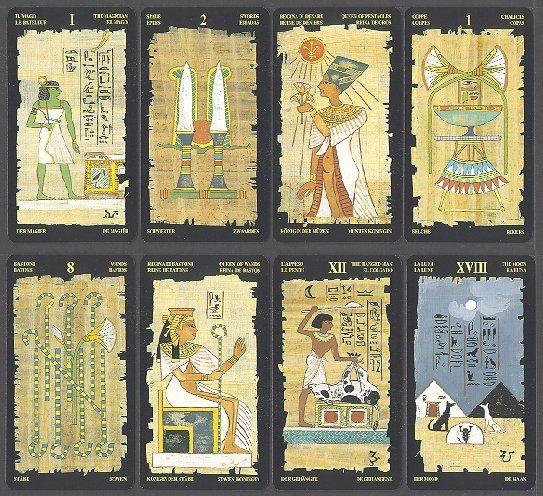 signification tarot egyptien
